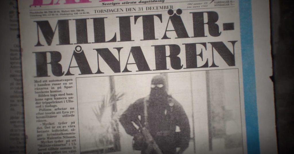 Reportage i expressen dagarna efter rånet
